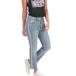 "Levi's 501 Crop Diamond Jeans Size 27"""